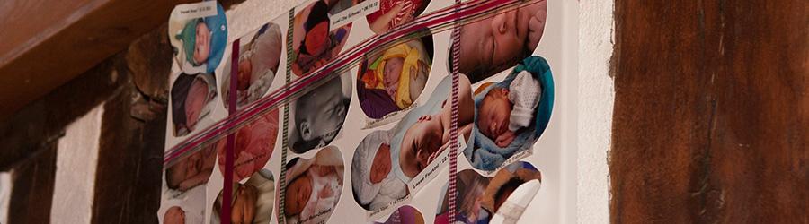 Geburtsbericht - Familie Scherer - Lupp